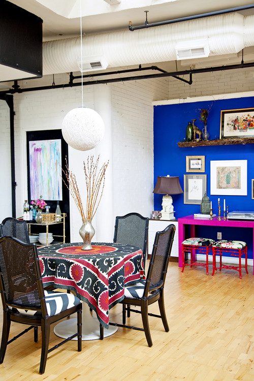 What Paint Color Is That Cobalt Blue Wall