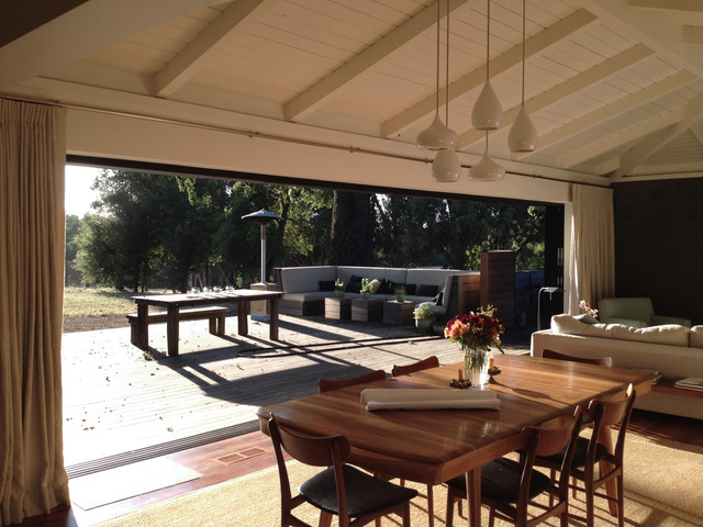 Napa Valley Residence Remodel contemporary-dining-room