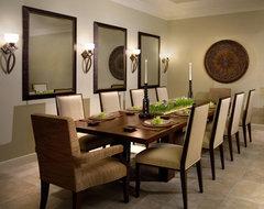 Naples Florida Home contemporary-dining-room