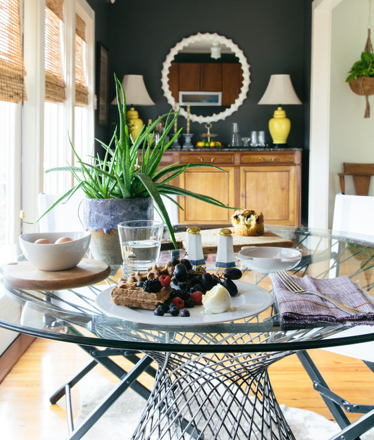 Eclectic Dining Room: Nashville Residence