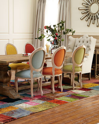 Natural Dining Table And Elizabeth Melody Chairs Traditional Rh Houzz Com Multi  Color Dining Room Set Multi Coloured Fabric Dining Room Chairs