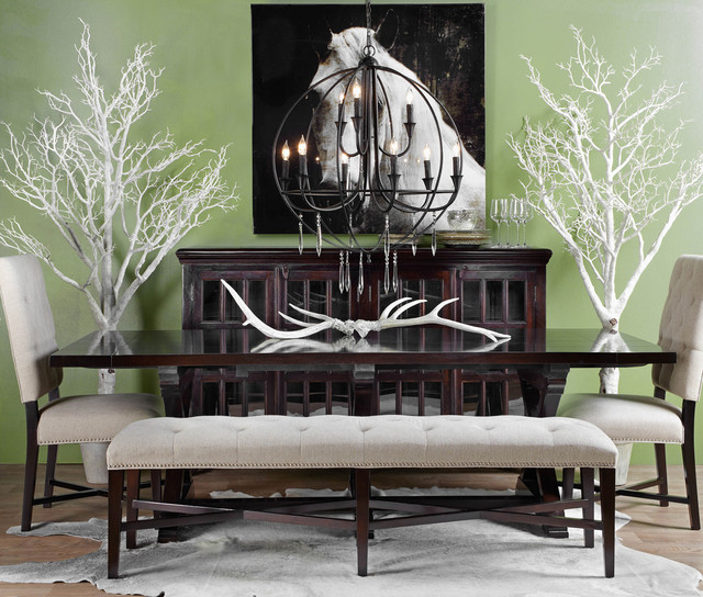 Natural Dining Modern Dining Room Other Metro By Z