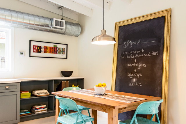 NE 27th St. eclectic-dining-room