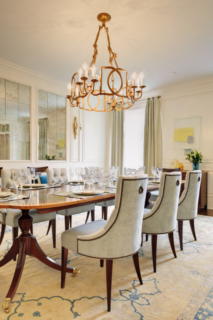 Near West End Traditional Dining Room Richmond By