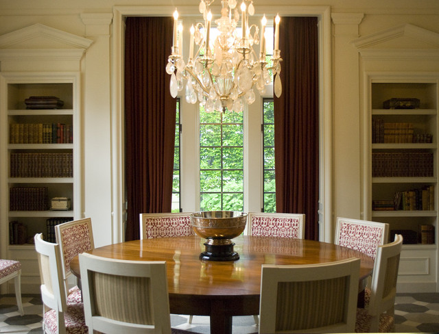 Neo Classical Living Room contemporary-dining-room