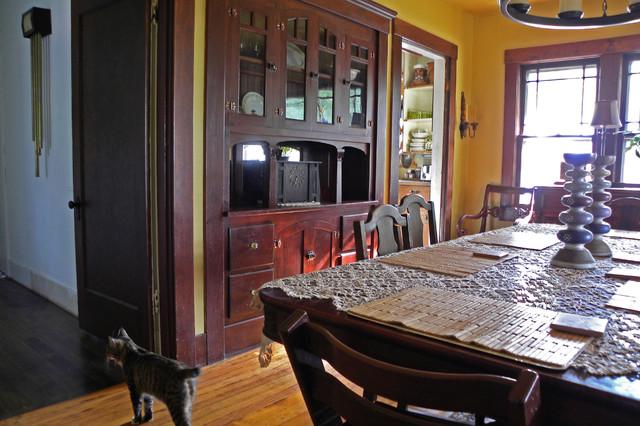 New Bridge, OR: The Pennock Family craftsman-dining-room
