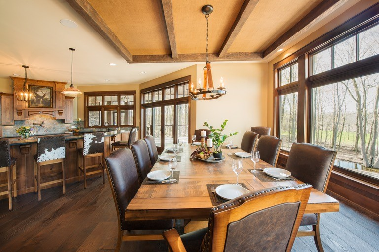 Rustic Dining Room, Lodge Style Dining Room Furniture