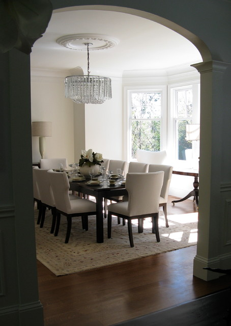 New Canaan Picturesque traditional-dining-room