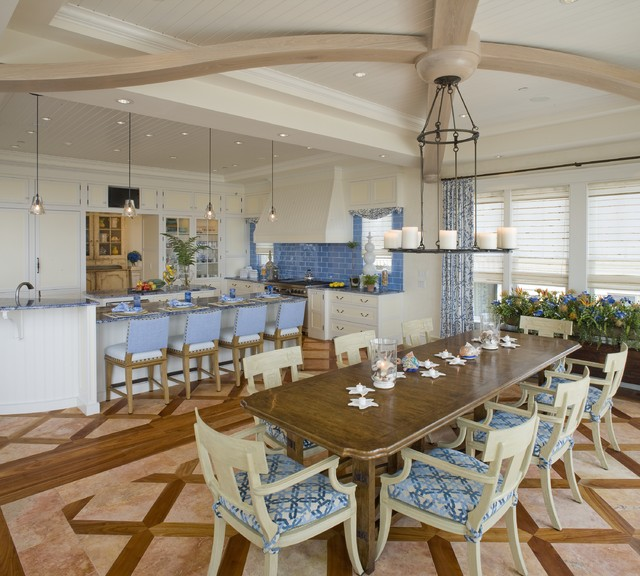 Dining Room Flooring Ideas Part - 49: Traditional Dining Room By Dewson Construction Company
