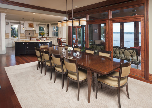 New Construction - Chesapeake City Maryland traditional-dining-room