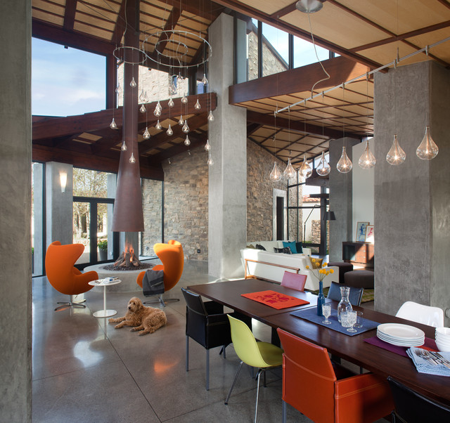 New Construction San Diego Ca Contemporary Dining