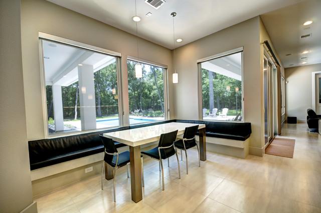 New Custom Home Construction contemporary-dining-room