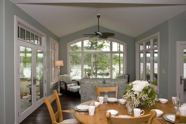 New england cottage contemporary dining room other for New england dining room ideas