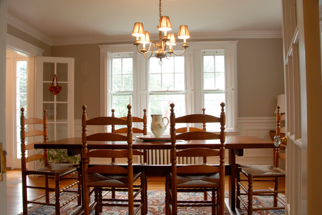 New England Style Dining Room - Traditional - Dining Room - Boston ...