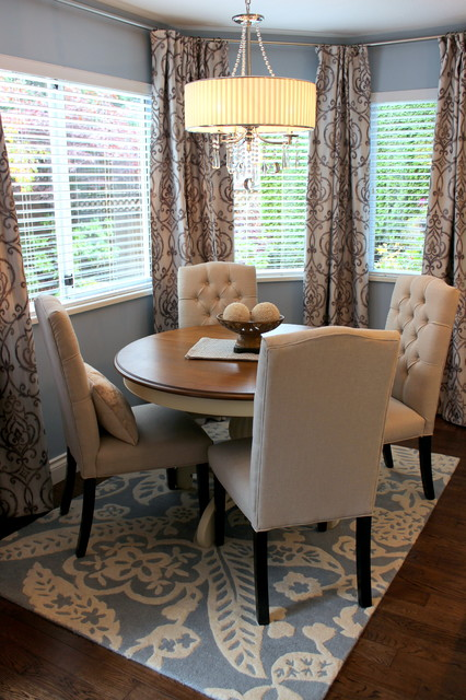 New French Country transitional-dining-room