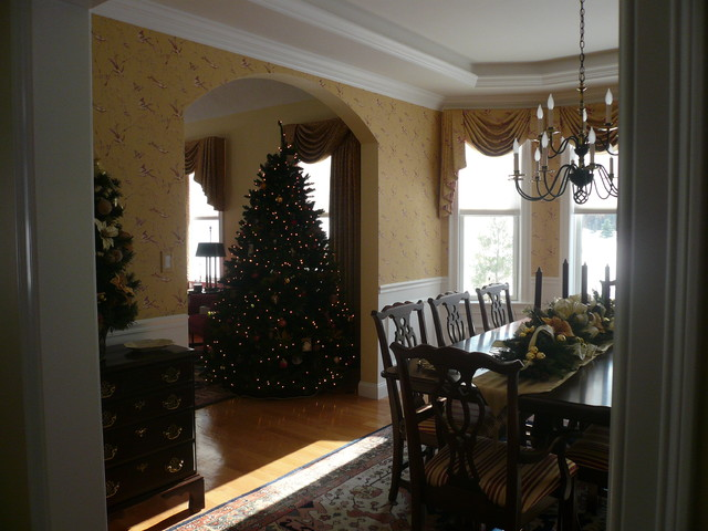 New hampshire design client traditional dining room for Interior designers hampshire