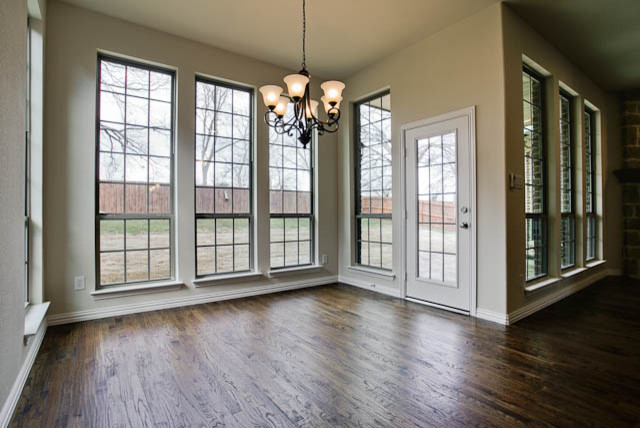 New Home Construction traditional-dining-room