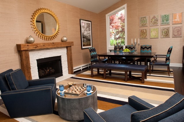 New Jersey Bachelor Pad modern dining roomNew Jersey Bachelor Pad. Dining Room Chairs In New Jersey. Home Design Ideas
