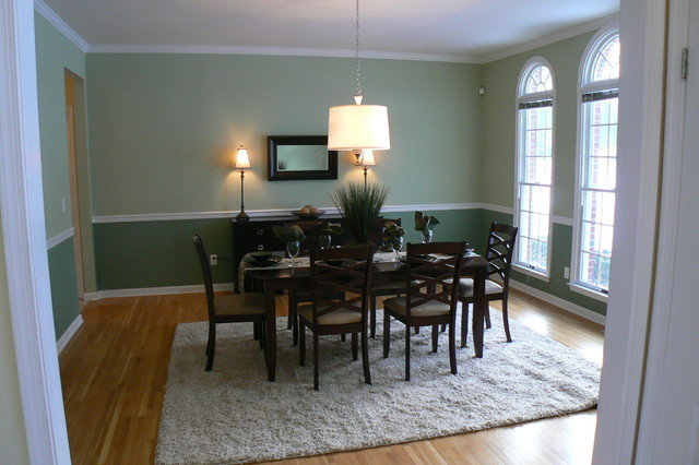 New Jersey Home Stager Dining Room After eclectic-dining-room