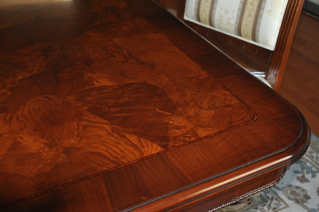 New Jersey Italian Dining Room Furniture 138 Quot Inlaid Table