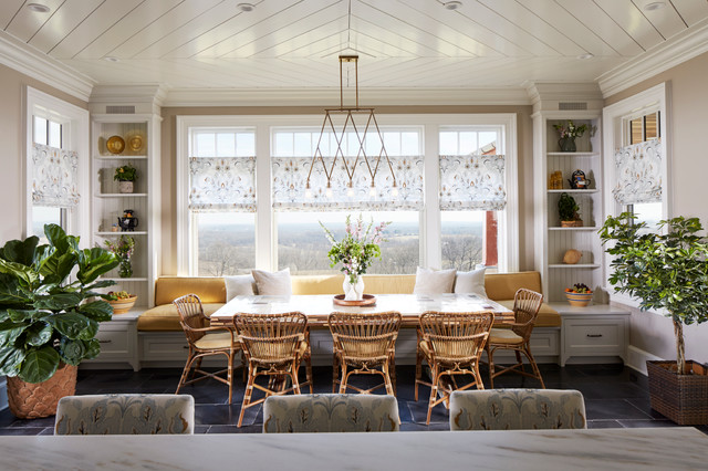New jersey modern farmhouse dining room