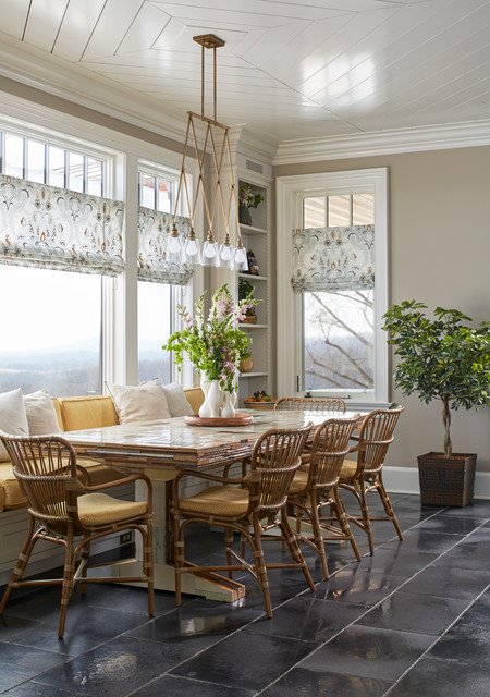 New Jersey Modern Farmhouse Farmhouse Dining Room new york by Dan Ruh