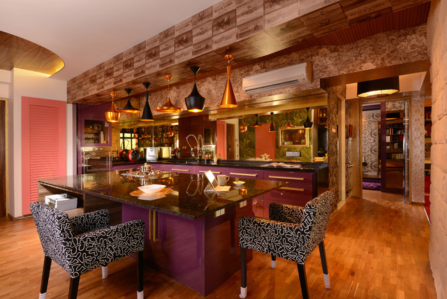 New Nyew LLP eclectic-dining-room