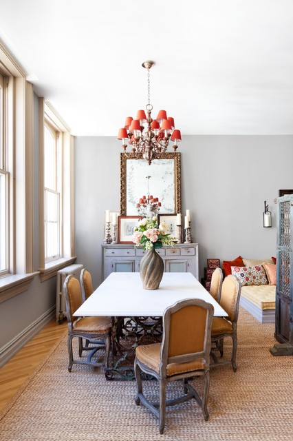 New york city loft eclectic dining room new york for Eclectic dining room decorating ideas