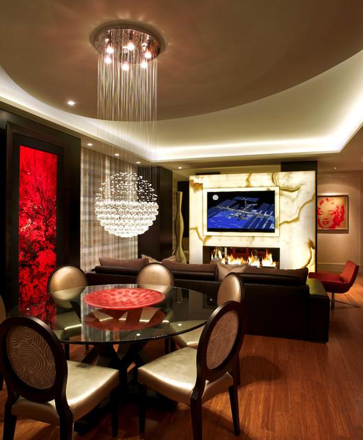 New york - Manhattan - Denier - residence contemporary-dining-room
