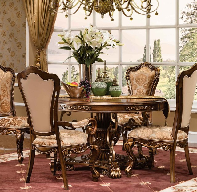 Newhaven 5 Pc Dining Set Traditional Room
