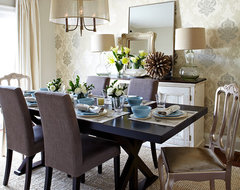 Newlyweds transitional-dining-room