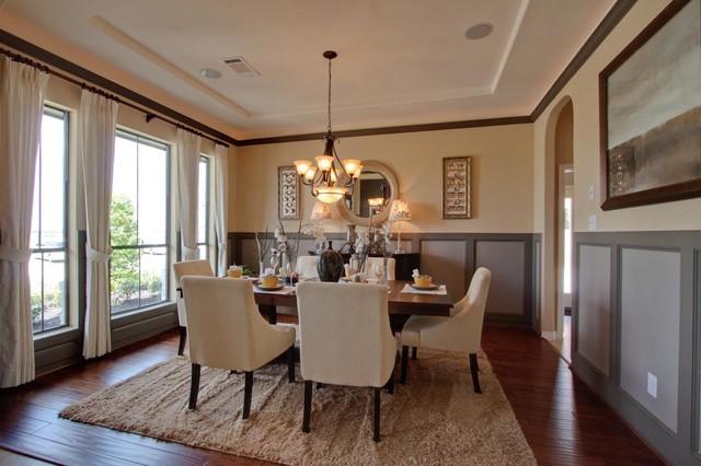 Elegant Dining Room Photo In Houston
