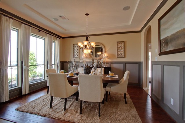 Newmark Homes Dining Room Wellington Traditional Dining Room Housto