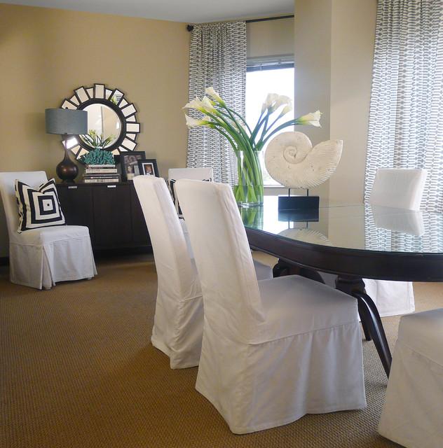 Newport Beach, CA contemporary-dining-room
