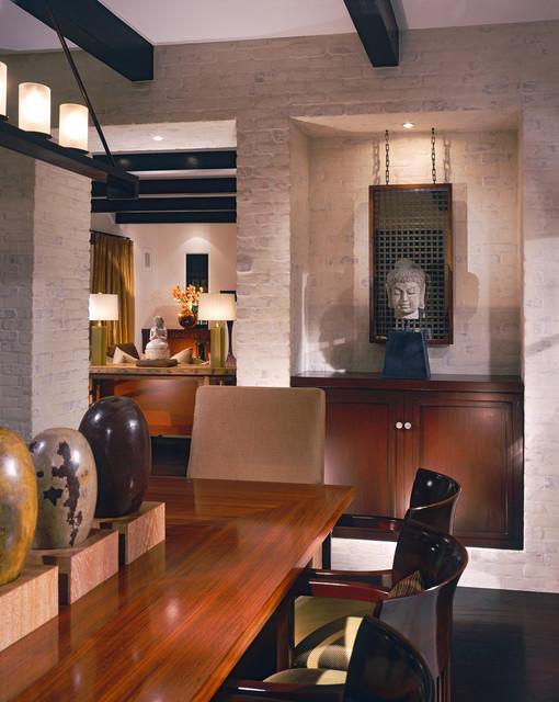 Newport Beach Custom Home 02 tropical-dining-room