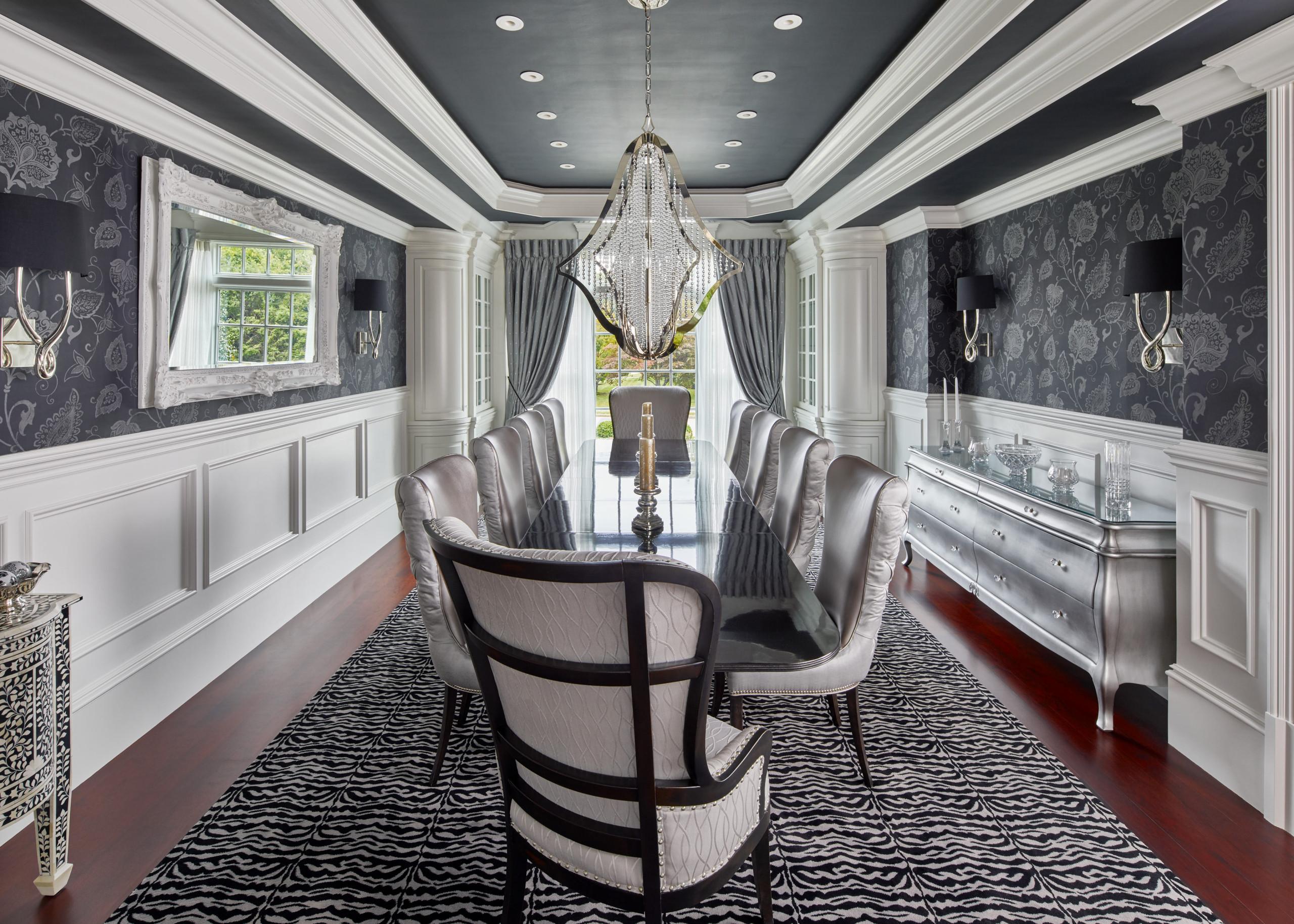75 Beautiful Dark Wood Floor Dining Room Pictures Ideas February 2021 Houzz