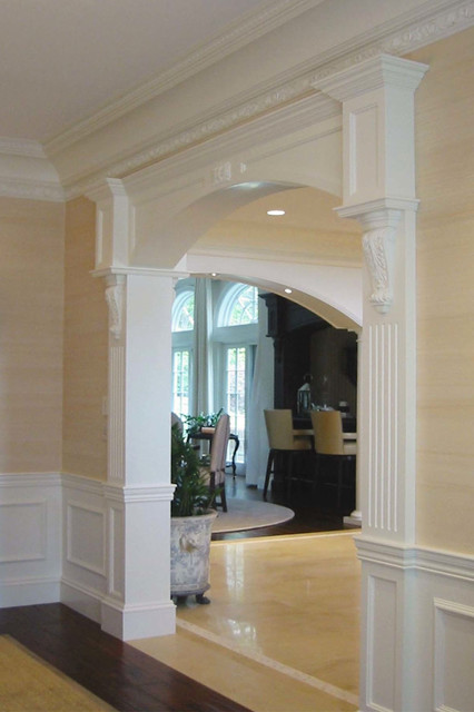 how to build a gable over a doorway entrance