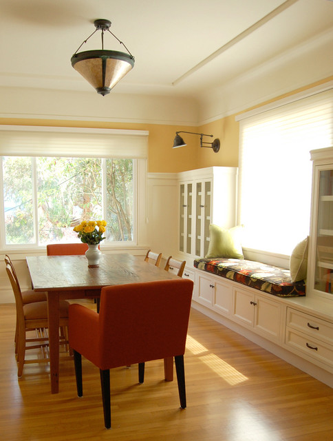 Niche Interiors: San Francisco Interior Design Services  American Traditional Dining Room