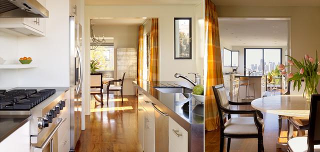 Nineteenth Street Residence modern-dining-room