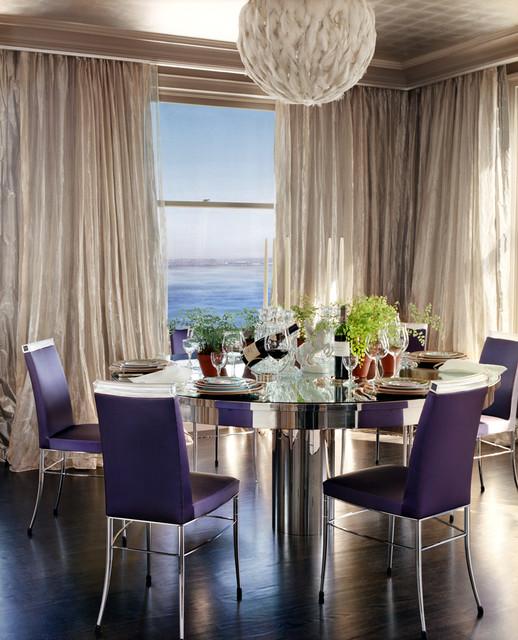 Nob Hill Apartment contemporary-dining-room