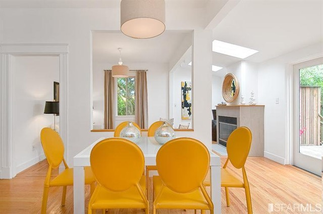 Noe Valley Cottage contemporary-dining-room