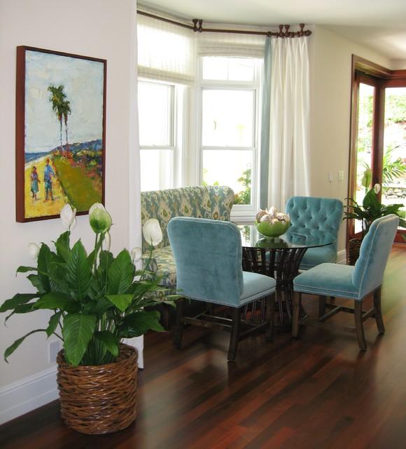 Noela Honolulu Hawaii Tropical Dining Room