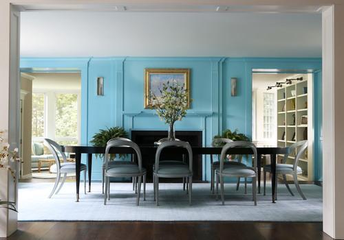 床色青の濃さ別青い壁のおしゃれなインテリア厳選45例