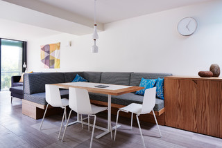 Noosa Apartment Fitout Scandinavian Dining Room Sunshine Coast By Nielsen Workshop
