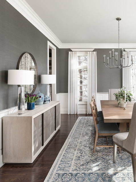 10 Tips For Getting A Dining Room Rug, Rug Under Dining Room Table