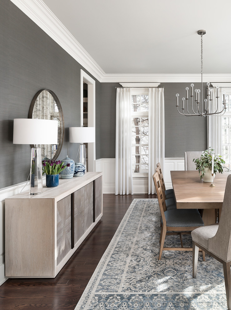 North Hinsdale Show Kitchen - Transitional - Dining Room ...