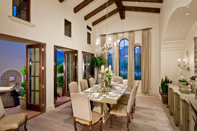 North Scottsdale Estate 2 mediterranean-dining-room