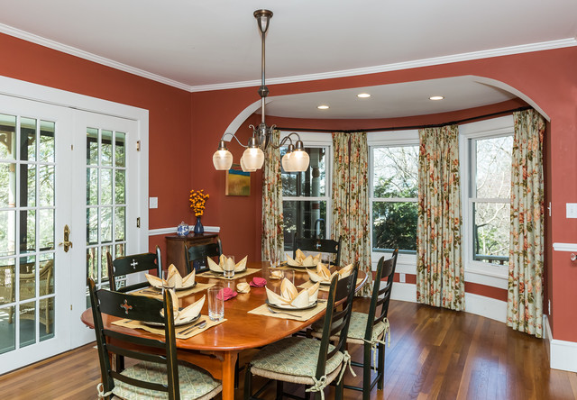 Northampton traditional custom home for Dining room northampton