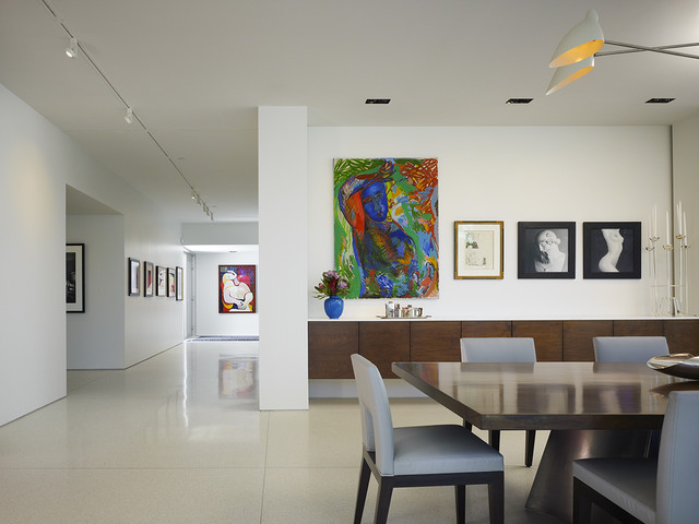 Northbrook House contemporary-dining-room