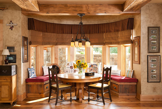 Northern Lights Rustic Dining Room Other Metro By Superior Hardwoods